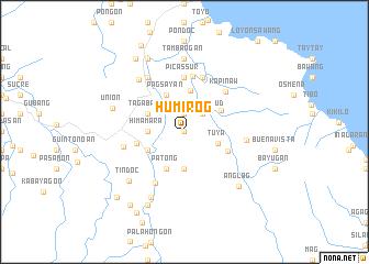 map of Humirog