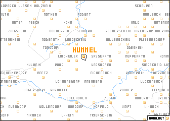 map of Hümmel