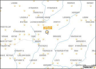 map of Huna