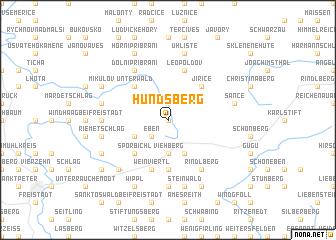 map of Hundsberg