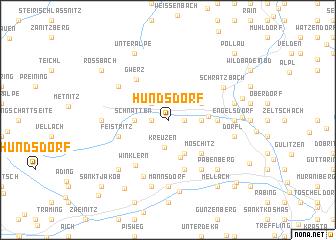 map of Hundsdorf