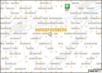 map of Hundsfussberg