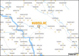 map of Hương Lạc