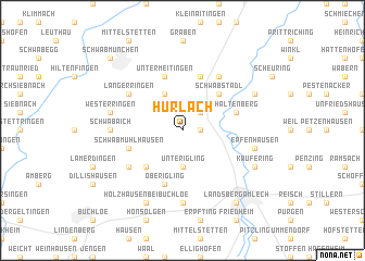 map of Hurlach
