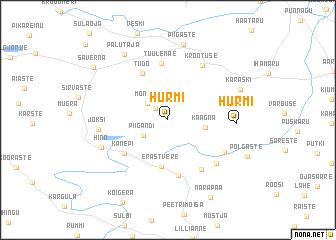 map of Hurmi