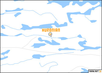 map of Huronian