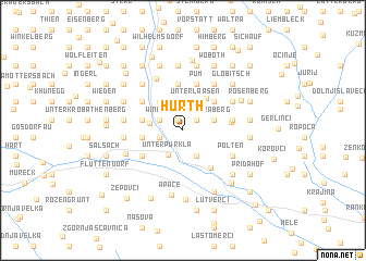 map of Hürth