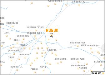 map of Hüşün