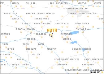 map of Huta