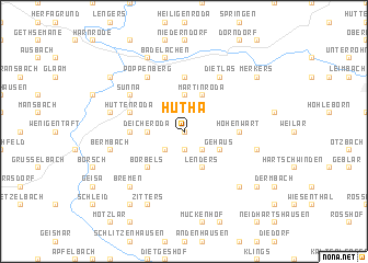 map of Hutha