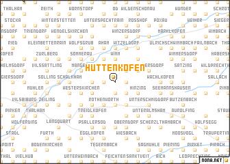 map of Huttenkofen
