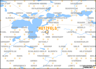 map of Hutzfeld