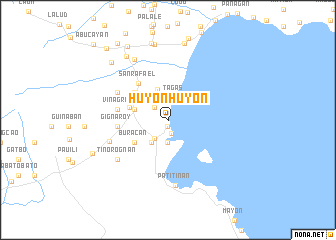 map of Huyonhuyon