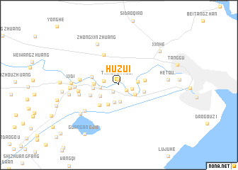 map of Huzui