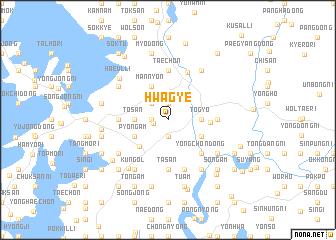 map of Hwagye