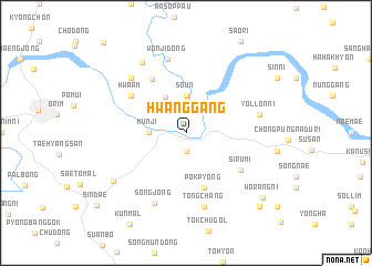 map of Hwanggang