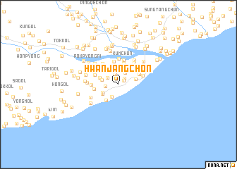 map of Hwanjang-ch\