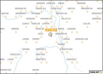 map of Hweho