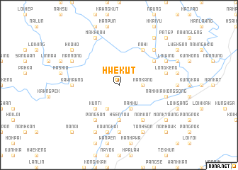 map of Hwe-kut