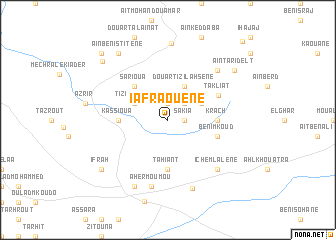 map of Iafraouene