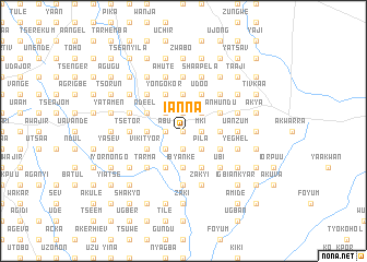 map of Ianna