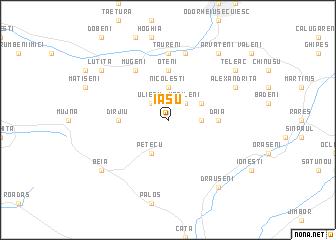 map of Iaşu