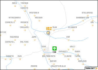 map of Iaz