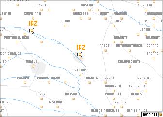 map of Iaz