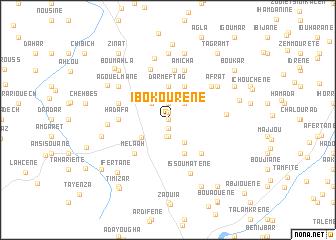 map of Ibokourene