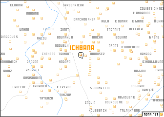 map of Ichbana