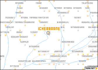 map of Ichebbaane