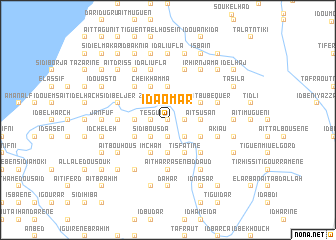 map of Id Aomar