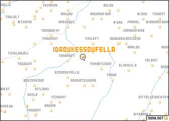 map of Ida Ou Kess Oufella