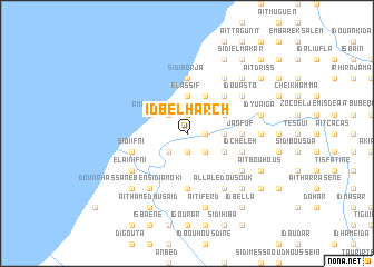 map of Id Bel Harch