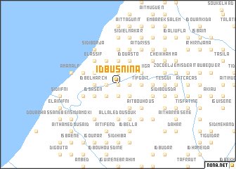 map of Id Busnina