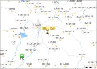 map of Idelisa