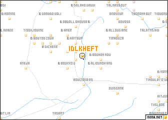 map of Id Lkheft