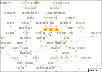 map of Id Mendil