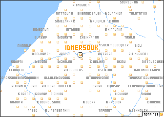 map of Id Mersouk