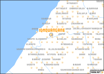 map of Id Mouangane