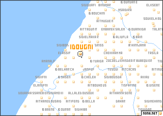 map of Id Ougni