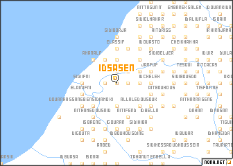 map of Id Sasen
