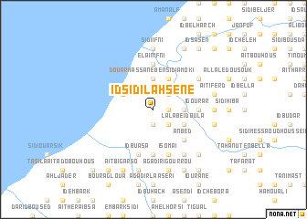 map of Id Sidi Lahsene
