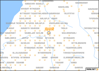 map of Iduir