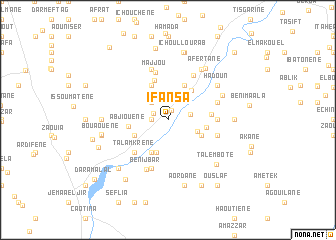 map of Ifansa
