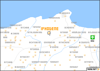 map of Ifhodene