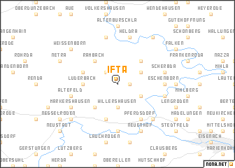 map of Ifta