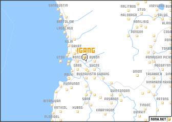map of Igang
