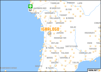 map of Igbalogo