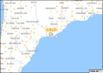 map of Igburi